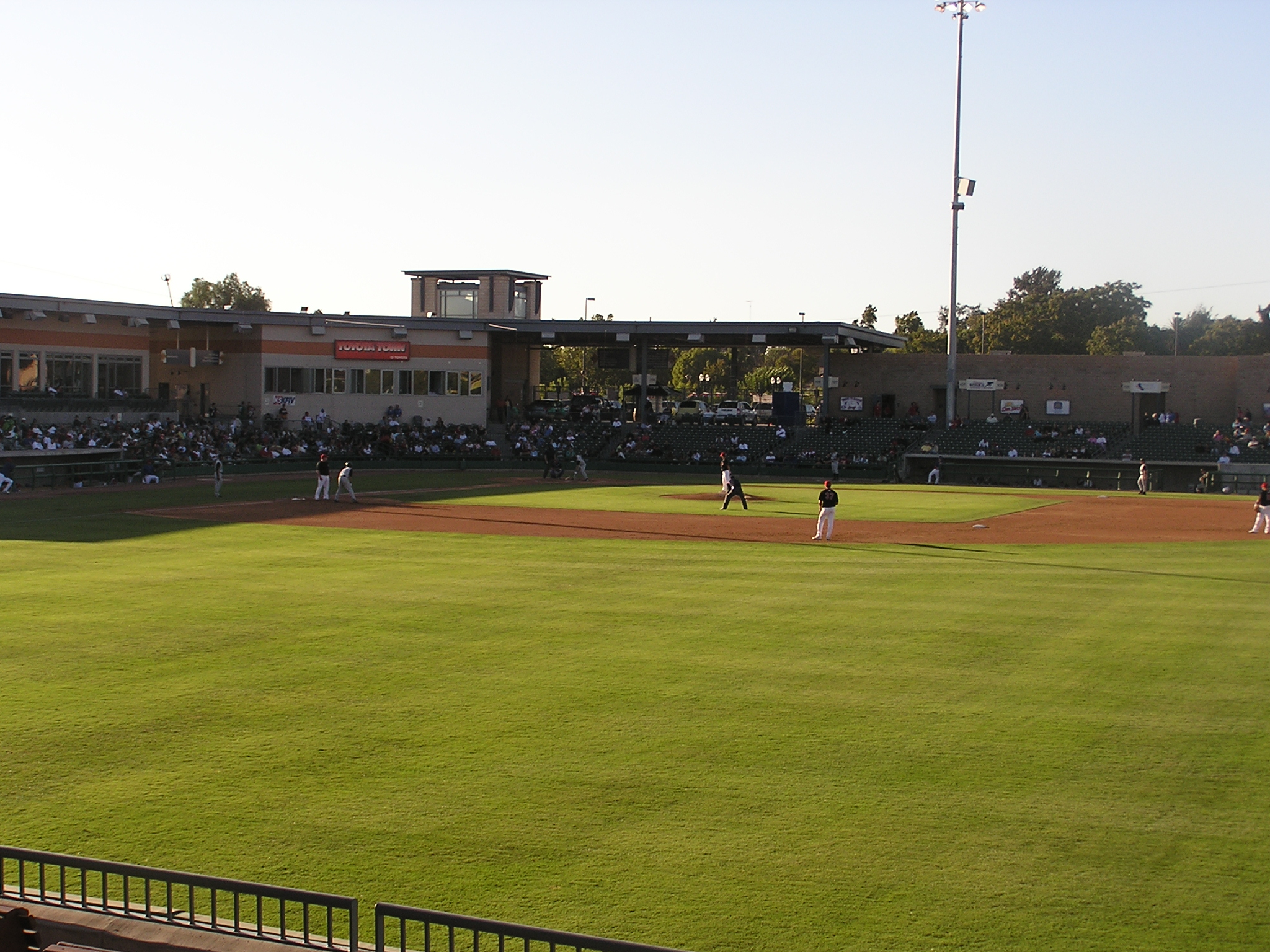 Stockton offers a unique view - Stockton Ports